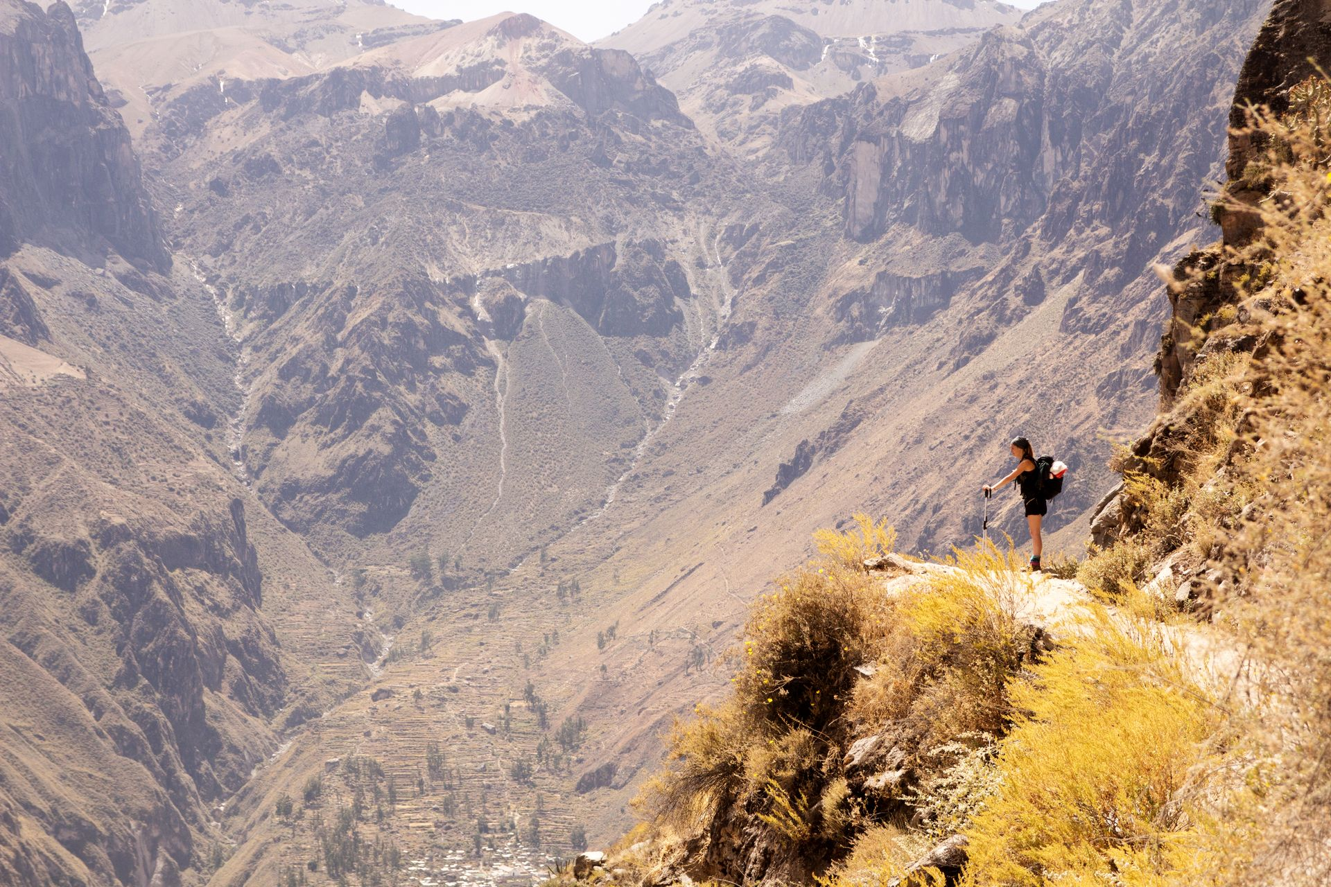 Trekking in the Colca Canyon